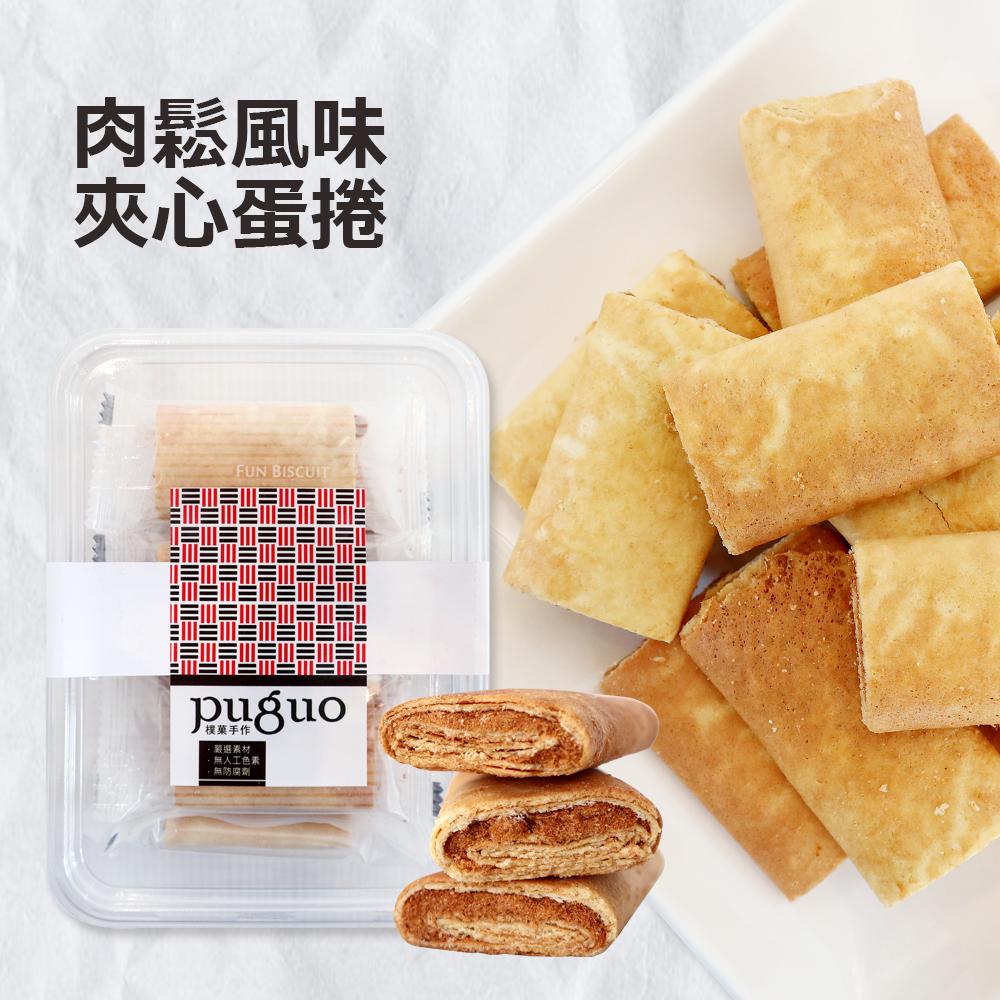 可口肉鬆夾心蛋捲(10小包/100g±10%/盒)_A029034